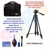 Nikon Dslr 140cm Tripod + Set Çanta + Temizlik Seti