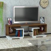 Kalender Dekro Cadedra Tv Ünitesi Ceviz Beyaz
