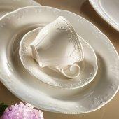Kütahya Porselen Mitterteich Caprice Krem 6 Kişilik Çay Takımı