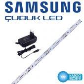 Samsung Beyaz Çubuk Led 50cm+1,5 Amper Fişli Adaptör