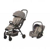 Baby2go Lindo Gri 8045 Bebek Arabası