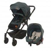 Baby2go 8046 Caramio Yeşil Bebek Arabası