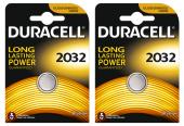 Duracell Düğme Lityum Pil 2032 2li 1 Paket (2 Adet)