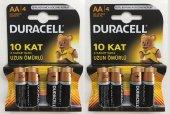 Duracell Aa Kalem Pil 4lü 2 Paket (8 Adet)