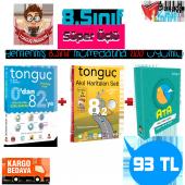 8.sınıf Süper Üçlü Set Paketi Tonguç Akademi Yayınları
