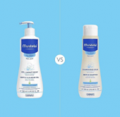 Mustela Baby Şampuan 200ml + Gentle Cleansing Gel 500ml