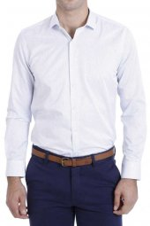 Modelli Slimfit Beyaz Gömlek