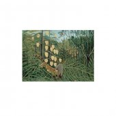 Henri Rousseau In A Tropical Forest 50x70 Cm