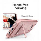 Spigen Samsung Galaxy S8 Plus Kılıf Crystal Hybrid Glitter Rose Quartz