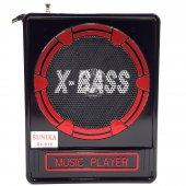 Bluetooth Şarjlı Dijital Küçük Radyo Müzik Çalar Hoparlör Usb Aux