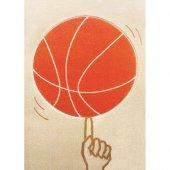 Ivi Çocuk Odası Oyun Halısı Basketbol 134x180