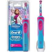 Oral B Frozen Çocuklar İçin Şarj Edilebilir Diş Fırçası