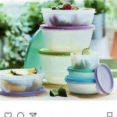 Tupperware Buzdolabı Seti 7 Parça