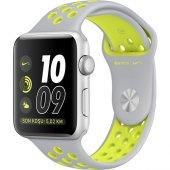 Apple Watch Seri 2 38mm Gümüş Rengi Alüminyum Kasa Ve Mat Gümüş V