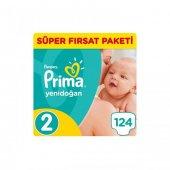 Prima Pampers Aktif Bebek 2 Numara 124 Ad. 3 6 Kg
