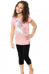 özkan 41964 Kız Çocuk Taytlı Takım