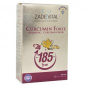 Zade Vital Curcumin Forte Zerdeçal 1000 Mg 40 Blister Kapsül