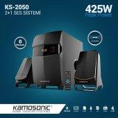 Kamosonic Ks 2050 425w Bluetoothusb Sd Kart Radyo Kumandalı 2+1