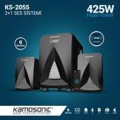 Kamosonic Ks 2055 425w Bluetoothusb Sd Kart Radyo Kumandalı 2+1