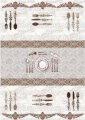 Brillant Latex Halı Dinner 130x200 (2.6 M.kare) Hl11192.102