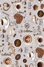 Brillant Latex Halı Coffee 130x200 (2.6 M.kare) Hl11152.101