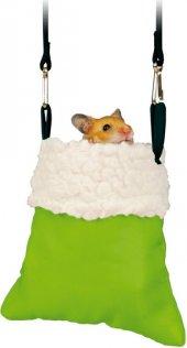 Trixie Hamster İçin Peluş Çanta, 11 14x12cm
