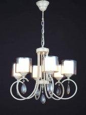 Aluna Lighting Krem Patine Avize Fal 00650 6 Ch