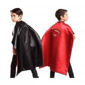 Batman Ve Superman Çift Taraflı Pelerin