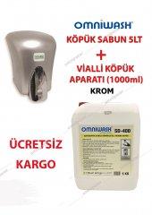 Köpük El Sabunu 5 L Omniwash+vialli Köpük Makinesi 1000 Ml