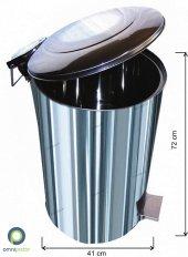 Endüstriyel Pedallı Çöp Kovası 95 Lt 430 Kalite Arı Metal