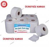 Mini Jumbo Tuvalet Kağıdı 12li Omnisoft