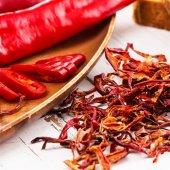 Kurutulmuş Kırmızı Biber Atıştırmalık Kuru Meyve