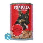 Rokus Kırmızı Et Parçalı Köpek Konservesi 410 Gr