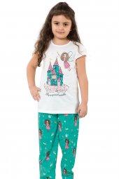 özkan 41978 Kız Çocuk Pijama Takımı