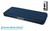 Intex 68950 Tek Kişilik Şişme Yatak + Pompa