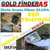 Gold Finder A5 Derin Arama Defineci Telefonu Hediyeli