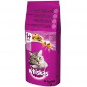 Whiskas Tavuklu & Sebzeli Kuru Kedi Maması 14 Kg