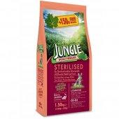 Jungle Sterilised Somonlu Kısır Kedi Maması 12 Kg