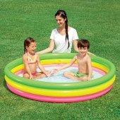 Bestway Çocuk Havuzu Şişirilebilir Zemin 3 Bölmeli 152*30cm Pb51