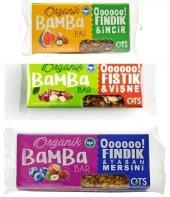 Ots Organik Glutensiz Bamba Bar 3lü Set