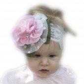 Babygiz Çiçek Aksesuarlı Saç Bandı Nba255