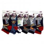 Ertuğ Erkek Çocuk Patik Kısa Çorap Asorti 6 Lı Paket