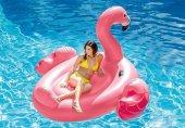 Intex 56288 Tutamaçlı Flamingo Ada Dev Boy (218 X 211 X 136 Cm.)