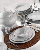 Kütahya Porselen Açelya 83 Parça Yemek Takımı Dekorsuz