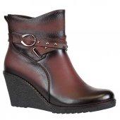 Nstep 2068 Zn Termal Dolgu Topuk Bayan Kışlık Bot Ayakkabı