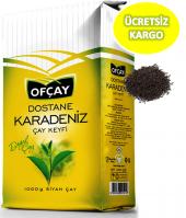 Ofçay Dostane Karadeniz Bergamot Aromalı Siyah Dökme Çay 1 Kg