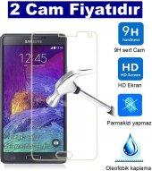 2 Adet Samsung Galaxy Grand 2 Kırılmaz Cam Ekran Koruyucu Tamperl