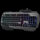 Rampage Kb R79 Gökkuşağı Aydınlatmalı Usb Gaming Oyuncu Klavye