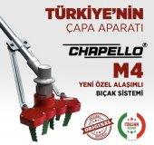 Chapello M4 Motorlu Tırpan Ucu Uyumlu Çapa Aparatı...