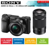 Sony A6000 16 50mm+55 210mm Çift Lensli Fotoğraf Makinesi